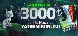 CasinoSlotilk Üyelik Bonusu